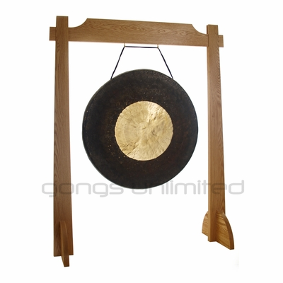 "32"" Dark Star Gong on Unlimited One Gong Stand"