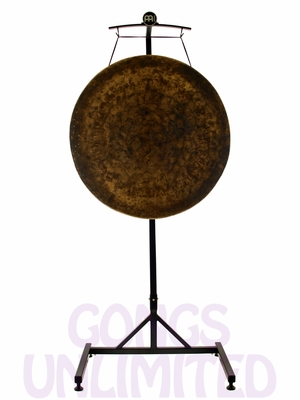 """32"""" Atlantis Gong on the Meinl Gong/Tam Tam Stand (TMGS)"""