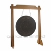 "32"" Mother Tesla Gong on Unlimited One Gong Stand"