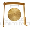 """32"""" Heng Gong on the Meinl Gong/Tam Tam Wood Stand (TMWGS-L) - SOLD OUT"""