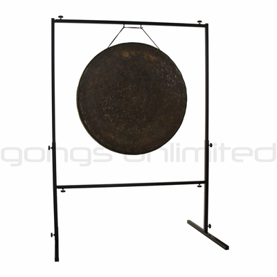 """32"""" Mother Tesla Gong Stand on Rambo Rimbaud Gong Stand SOLD OUT"""