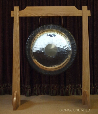 "32"" Paiste Symphonic Gong on Unlimited One Stand with Paiste M5 Mallet"