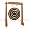 "32"" Solar Flare Gong on Unlimited One Gong Stand"