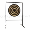 "32"" Solar Flare Gong on Rambo Rimbaud Gong Stand SOLD OUT"