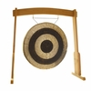 "32"" Subatomic Gong on the Meinl Gong/Tam Tam Wood Stand (TMWGS-L) - SOLD OUT"