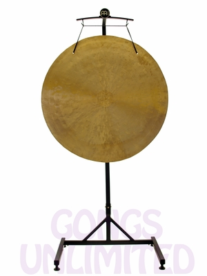 """32"""" Wind Gong on the Meinl Gong/Tam Tam Stand (TMGS)"""