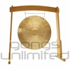 """32"""" Wind Gong on the Meinl Gong/Tam Tam Wood Stand (TMWGS-L) - SOLD OUT"""