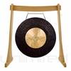 """40"""" Dark Star Gong on the Unlimited Revelation Gong Stand - FREE SHIPPING"""