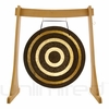 """40"""" Solar Flare Gong on the Unlimited Revelation Gong Stand - FREE SHIPPING"""