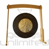 "36"" Dark Star Gong on the Meinl Gong/Tam Tam Wood Stand (TMWGS-L) - SOLD OUT"