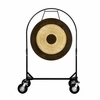 """36"""" Chau Gong on Corps Design Adjustable Marching Band Gong Stand"""