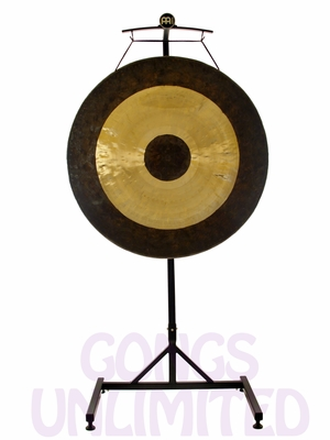 """36"""" Chau Gong on the Meinl Gong/Tam Tam Pro Stand (TMGS-2)"""