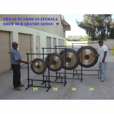 """SOLD OUT 36"""" Chau Gong on Stand Up! Gong Stand"""