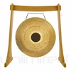 """36"""" Chocolate Drop Gong on the Unlimited Revelation Gong Stand - FREE SHIPPING"""