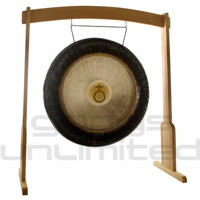 "36"" Meinl Earth Planetary Tuned Gong on the Meinl Wood Stand (G36-E/TMWGS-L) - SOLD OUT"