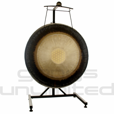 """36"""" Meinl Sonic Energy Flower of Life Gong on Meinl Metal Stand (G36-FOL/TMGS-2) - SOLD OUT"""