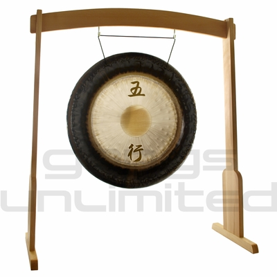 """36"""" Meinl Sonic Energy Wu Xing Gong on Meinl Wood Stand (G36-WX/TMWGS-L) - SOLD OUT"""
