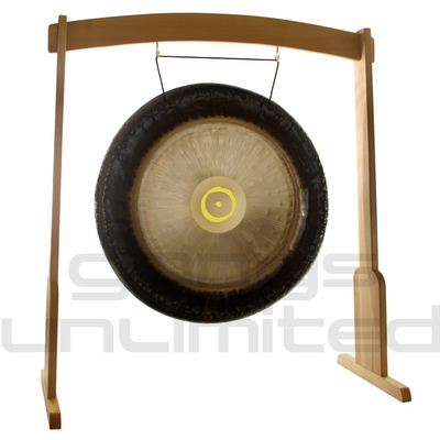 "36"" Meinl Sun Planetary Tuned Gong on the Meinl Wood Stand (G36-S/TMWGS-L) - SOLD OUT"
