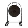 """36"""" Mother Tesla Gong on Corps Design Adjustable Marching Band Gong Stand"""