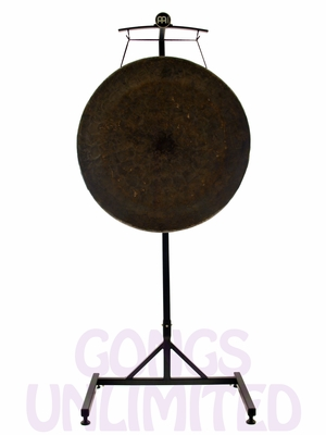 "36"" Mother Tesla Gong on the Meinl Gong/Tam Tam Pro Stand (TMGS-2)"