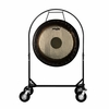 """36"""" Paiste Symphonic Gong on Corps Design Adjustable Marching Band Gong Stand"""