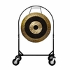 """SOLD OUT 36"""" Subatomic Gong on Corps Design Adjustable Marching Band Gong Stand"""