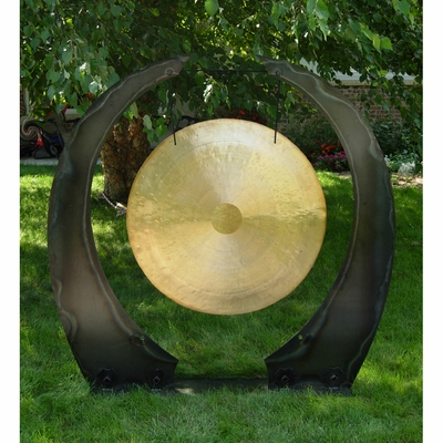 """36"""" to 40"""" Gongs on the Edge of the Universe Gong Stand - CUSTOM ORDERED"""