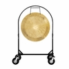"""36"""" Wind Gong on Corps Design Adjustable Marching Band Gong Stand"""