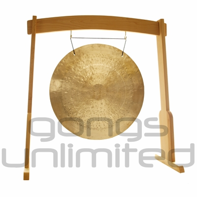 "36"" Wind Gong on the Meinl Gong/Tam Tam Wood Stand (TMWGS-L) - SOLD OUT"