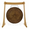 """36"""" Atlantis Gong on the Unlimited Revelation Gong Stand - FREE SHIPPING"""