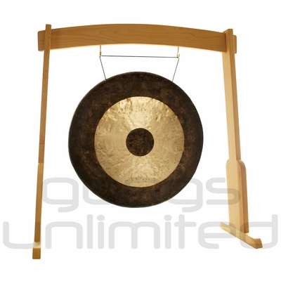 "38"" Chau Gong on the Meinl Gong/Tam Tam Wood Stand (TMWGS-L) - SOLD OUT"