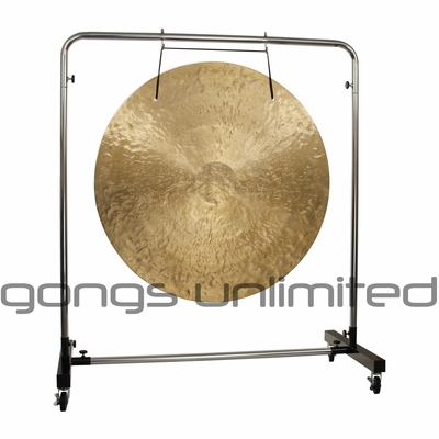 """38"""" Wind Gong on Astral Reflection Gong Stand - SOLD OUT"""