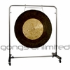 "40"" Dark Star Gong on Astral Reflection Gong Stand"