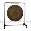 "40"" Atlantis Gong on Astral Reflection Gong Stand"