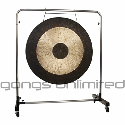 """40"""" Chau Gong on Astral Reflection Gong Stand"""
