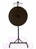 "40"" Mother Tesla Gong on the Meinl Gong/Tam Tam Pro Stand (TMGS-2)"