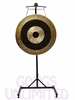 "40"" Subatomic Gong on the Meinl Gong/Tam Tam Pro Stand (TMGS-2)"
