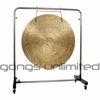 "40"" Wind Gong on Astral Reflection Gong Stand"