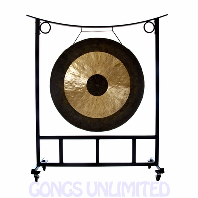 "44"" Chau Gong on the Large Asclepius Gong Stand - FREE SHIPPING"
