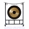 """44"""" Chau Gong on the Large Asclepius Gong Stand - FREE SHIPPING"""