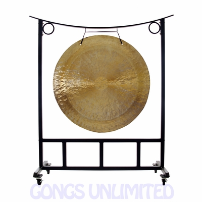 "48"" Wind Gong on the Large Asclepius Stand - FREE SHIPPING - SOLD OUT"