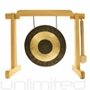 "7"" Chau Gong on the Tiny Atlas Stand - Natural - FREE SHIPPING"