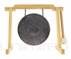 "7"" Mother Bao on Tiny Atlas Gong Stand - Natural - FREE SHIPPING"