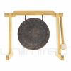 "7"" Mother Tesla Gong on Tiny Atlas Stand - Natural - FREE SHIPPING"