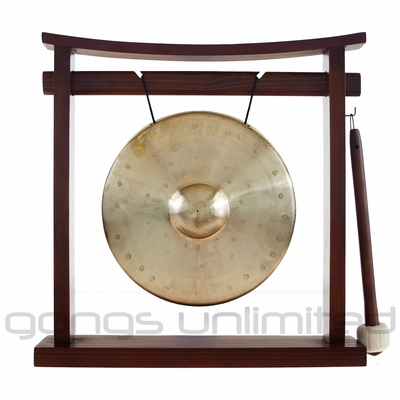 """8"""" Bao Gong on the Pretty Chill Gong Stand - FREE SHIPPING"""