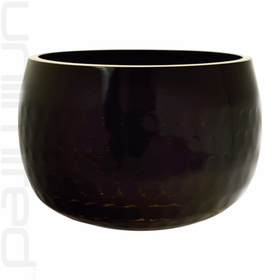 "8.5"" Black Ching Bowl (Temple Bowl Gong)"