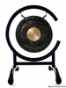 """8"""" Dark Star Gong on High C Gong Stand - FREE SHIPPING"""