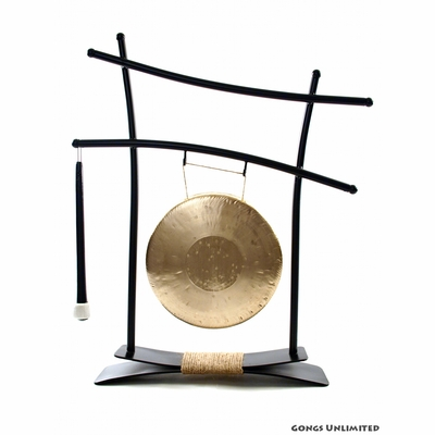 "8"" Ma Gong on Parallel Universe Gong Stand - FREE SHIPPING"