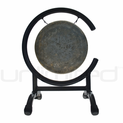 """8"""" Mother Tesla Gong on High C Gong Stand - FREE SHIPPING"""