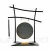 "8"" Mother Tesla Gong on Parallel Universe Gong Stand - FREE SHIPPING"